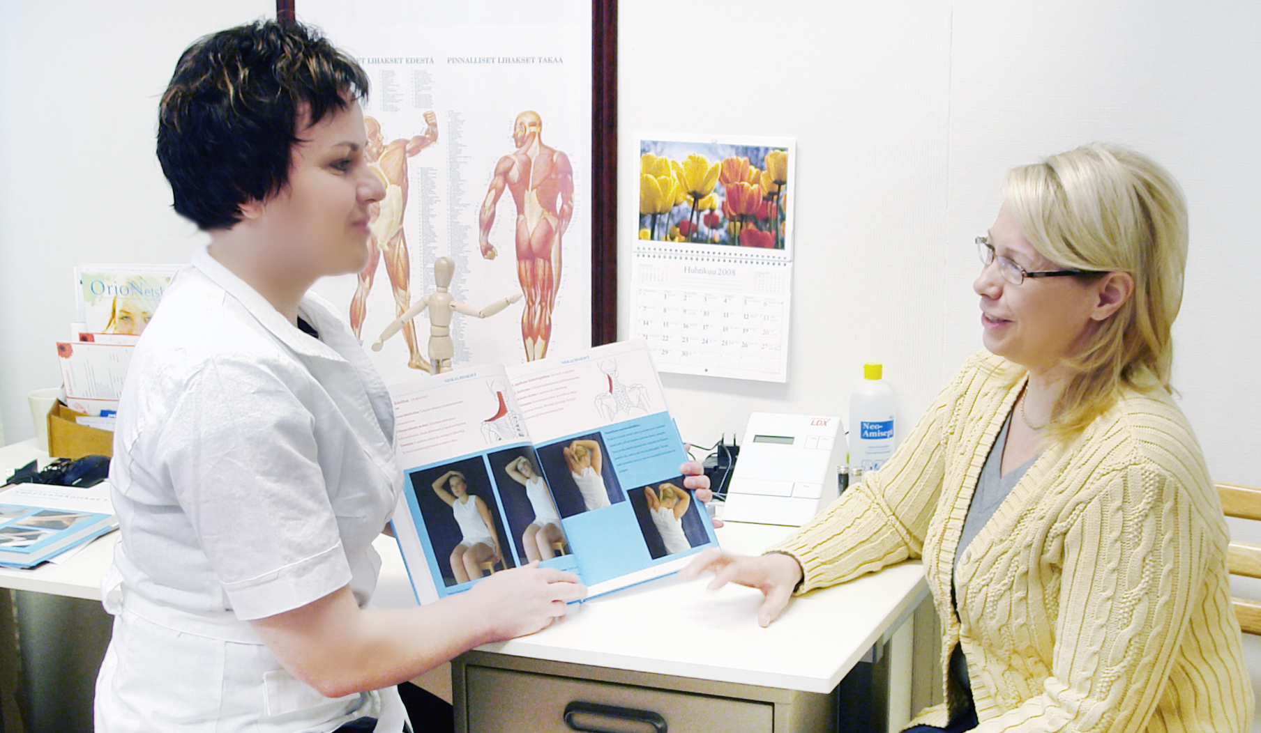 Yksilöllistä terveysneuvontaa
